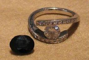 プラチナのダイヤリング